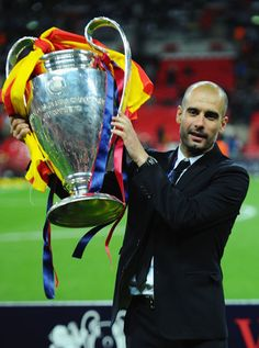 """Josep """"Pep"""" Guardiola - Check out more #Greatest #Managers @ http://pinterest.com/SoccerFocus/Greatest-Managers"""