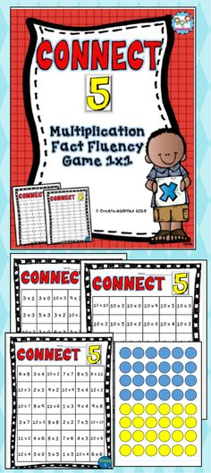 1 x 1 multiplication fact fluency game. Great for small group, math centers, early finishers and more! $