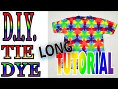 249d06f9958a88 DIY Tie Dye a 60 60 60 Flag Fold on a shirt  Long Tutorial   30