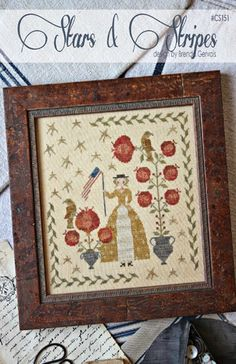 Stars and Stripes - With thy Needle & Thread