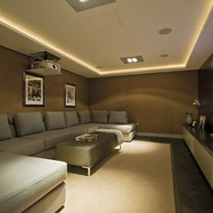 Media Room screen innovations Design Ideas, Pictures, Remodel and Decor
