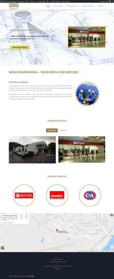 Website da SENG Engenharia - http://indiramarrul.com.br/