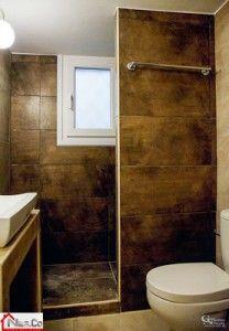 Ολική Ανακαίνιση στο Κάραβελ - Πλακάκια - Είδη Υγιεινής - Καμπίνα Ντους Toilet, Bathroom, Washroom, Flush Toilet, Full Bath, Toilets, Bath, Bathrooms, Toilet Room