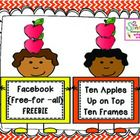 Have fun with your students after reading Ten Apples Up on Top with this math center. Students create their own book by filling in the sentence ___...