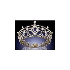 Royal Inspired Tiaras for 2012 ❤ liked on Polyvore featuring tiara, crowns and jewelry
