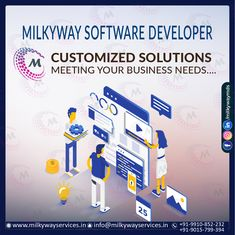 Are you decisive enough while choosing the software developer for your Software Development needs? Milkyway brings you an opportunity to build a software based product with innovative features. Call ☎️ at : +91-9910-852-232 . . #software #softwaredevelopment #softwaredesign #development #technology #developer #customsoftware #webdesign #websitedevelopment #startup #website #schoolsoftware #erpsoftware #hrmsoftware #ecommerce #businessapp #business #itcompany #branding Competitor Analysis, Software Development, Ecommerce, Opportunity, Innovation, Career, Web Design, Management, Branding