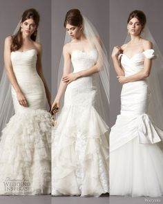 http://weddinginspirasi.com/2013/05/03/watters-brides-fall-2013-wedding-dresses/ : Too many beautiful dresses to pick from. We finally drilled down to these as our top picks from Watters Brides Fall 2013 Wedding Dress Colle...