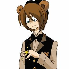 Kawaii| me : Freddy looks so cute with a ring on he should marry golden Freddy get it cause there both Freddy ...... that was a horrible pun