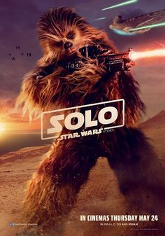 Solo: A Star Wars Solo UK character posters