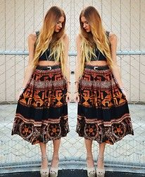 Seaghna Wilson - Vintage Skirt - You,love,a,sinking,stone