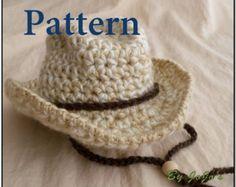 1f83d919c7f19 9 mejores imágenes de Sombreros de vaquero de crochet