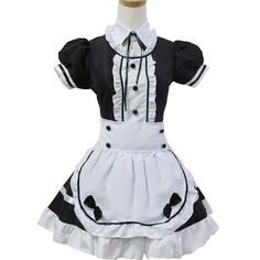 Sexy French Maid Costume Dress