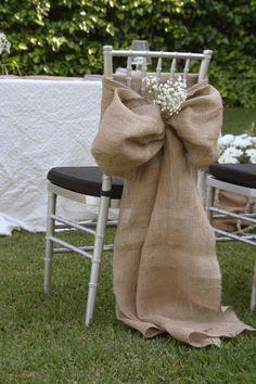 Una muestra de #sillasdecoradas para que no falte ningún detalle en tu día.