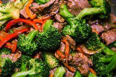 Oriental Beef with Veggies