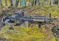Light Machine Gun, 2nd Amendment, Rifles, Wolverine, Airsoft, Swords, Firearms, Knives