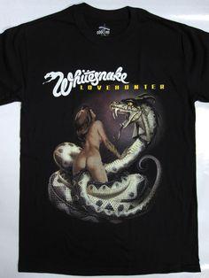 Whitesnake Lovehunter'79 New Black T-shirt by TshirtFromBaco on Etsy