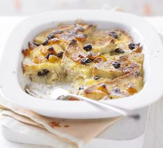 I always think of bread & butter pudding of being very English! I'm not sure if it is but I think so!