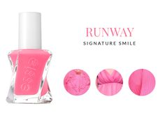 Essie ♥ Gel Couture Runway Signature Smile http://beautyboulevard.se/essie-gel-couture/ Nail Polish Nagellack Dusty Pastel Pastell Bright Pink Rosa Lila Purple Black Svart White Vit