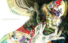 Minjae Lee Paintings | ... Minjae Lee 49 50 Amazing Colorful Illustrations by Minjae Lee (Greno