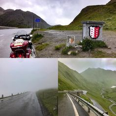 Where does the Furkapass go to? #furkapass #rain #fog #cold #indianroadmaster #indianmotorcycle