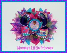 Doc McStuffins Layered Boutique Bow. $8.50, via Etsy.