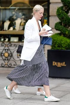 20 Easy Outfits That Will Make You Look Instantly Put Together #purewow #outfit ideas #fashion #style