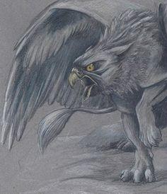 Angry gryphon