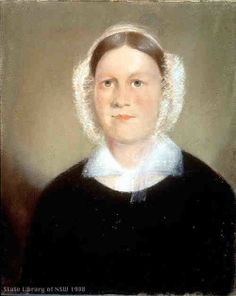 Mary, wife of John Verge. She was the daughter of John Alford and Janr (nee Camm), and was the common-law wife of John Clegg, innkeeper of Botany when she met John Verge. Verge already had a wife behind in England, so John and Mary were only able to marry in later years.