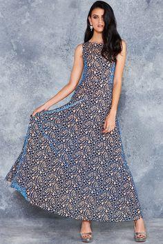 Burned Velvet Nude Bloom Princess Maxi Dress - LIMITED ($130AUD) by BlackMilk Clothing