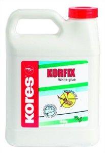 Hobbyragasztó, 250 g, KORES White Glue
