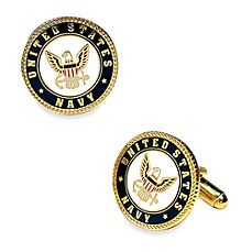 Enamel United States US Navy Cufflinks: The official military insignia of the United States Navy in a colored enamel finish on a gold setting with a rope border. Benz, Purse Hook, Military Insignia, Grad Gifts, Buy Buy Baby, Purse Organization, United States Navy, Gold Set, Us Navy