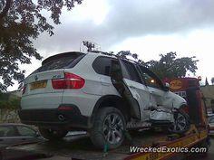 BMW X-Series X5 crashed in Jerusalem, Israel