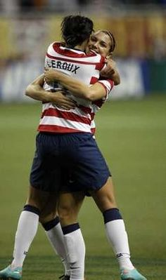 Sydney Leroux scored in the 84th minute vs. China with the assist from Alex Morgan. I hate that this game wasn't televised
