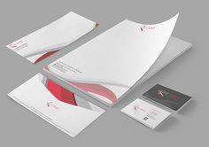 Branding set for lightpoetstudios.com by Anca Designs, via Behance
