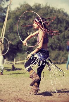 hoop dance energy flow