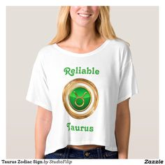 Taurus Zodiac Sign T-shirt | 15% OFF anything | Enter coupon code ALLOVERSTYLE during checkout |. Good through April 6, 2016 11:59PM PT