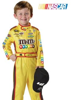 Kyle Busch Toddler Costume Size M (3-4) Best Reviews