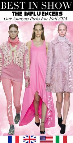Trend Council:  Best In Show - The Influencers for Fall 2014