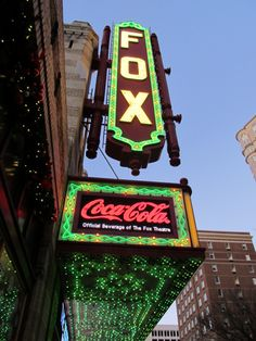 The Fox Theater - Atlanta, GA  This is a must see for all natives and visitors of the ATL.