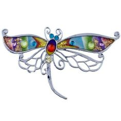 Pugster Flying Dragonfly Winged Sapphire Blue Swarovski Crystal Diamond Accent Rhinestone Brooches And Pin Pugster. $14.21. One free elegant cushioned Gift box available with every order from Pugster.. Can be pinned on your gown or fastened in your hair with bobby pins.. Occasion: casual wear,anniversary, bridal, cocktail party, wedding. Exquisitely detailed designer style with Swarovski cystal element.. Money-back Satisfaction Guarantee.