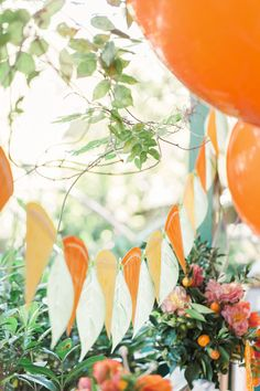 A citrus inspired party with ladybirds and bees bustling through the garden. Garden Theme Birthday, Birthday Party Decorations, Baby Birthday, Birthday Ideas, Orange Birthday Parties, Orange Party, Giant Balloons, Mylar Balloons, Baby Shower Themes