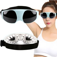 Eye Massager Magnetic vibration massage Eye Protection relaxation Instrument Go black eye Anti myopia USB/Battery power supply