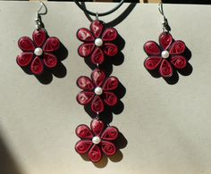 quilled jewelry - Google Search