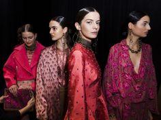 """zimmermann-sydney: """" Backstage: Mirror Mirror runway show at New York Fashion…"""