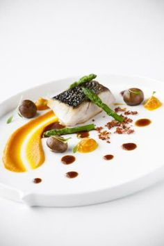 Nico Struelens: Gebakken ombervis / zalf van...   Unilever Food Solutions België