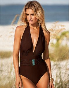 Trajes de bano on pinterest swimwear infinity and verano for Traje de bano entero
