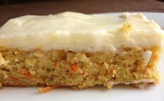 Carrot and Zucchini Bars with Lemon Cream Cheese Frosting – Lovers Recipes