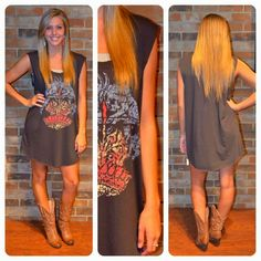 Free People T-shirt dress! A must have!
