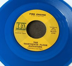 "13th Floor Elevators Reverbaration Doubt 7"" Blue Vinyl Reissue Mint 