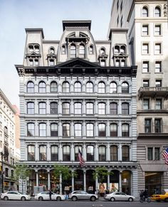 New York City Boroughs ~ Manhattan | The Arnold Constable Building, corner Fifth Avenue and West 19th Street. Designed by Griffith Thomas.